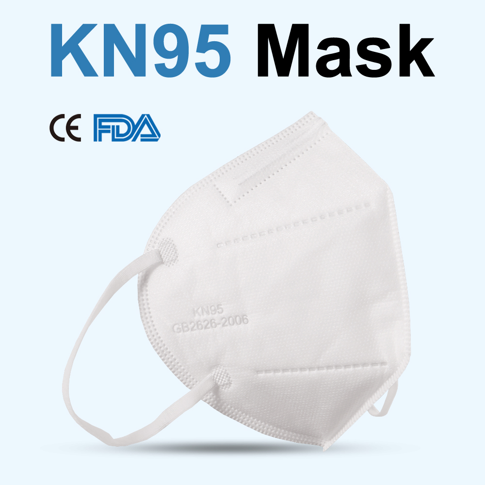 50pcs 3-layer No-woven Anti-dust Mouth Masks Dustproof Anti-fog Masks Respirator FFtp2 Protective Filtration Earloop Face Mask