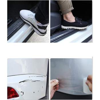 NEW Car Stickers Styling Door Sill Protector Sticker For MAZDA 3 5 6 CX-3 CX-5 CX-7 CX-9 mazda3 MAZDA6 MX-5 RX 7 RX 8 image