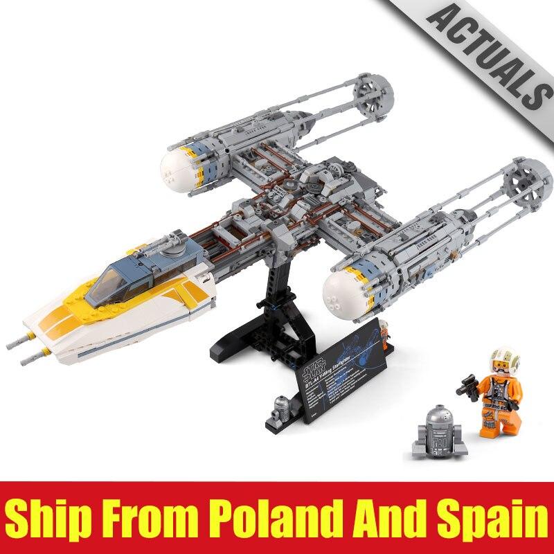 DHL 05143 Star Toys Wars Compatible avec 75181 y wing fighter Set Wars blocs de construction briques jouets pour enfant jouets cadeaux d'anniversaire-in Blocs from Jeux et loisirs    1