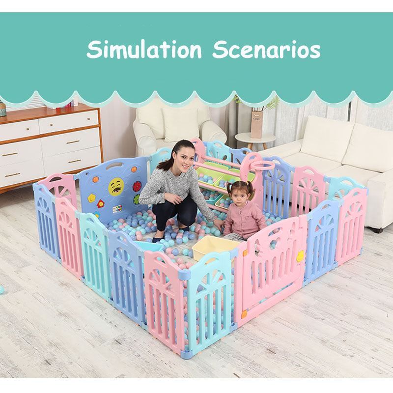 Indoor Baby Playpens Outdoor Games Fencing Riding Hall Children Play Fence Kids Activity Gear Environmental  Safety Play Yard