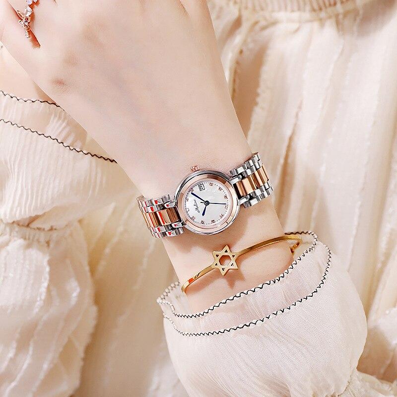relógio de quartzo à prova dmonágua montre