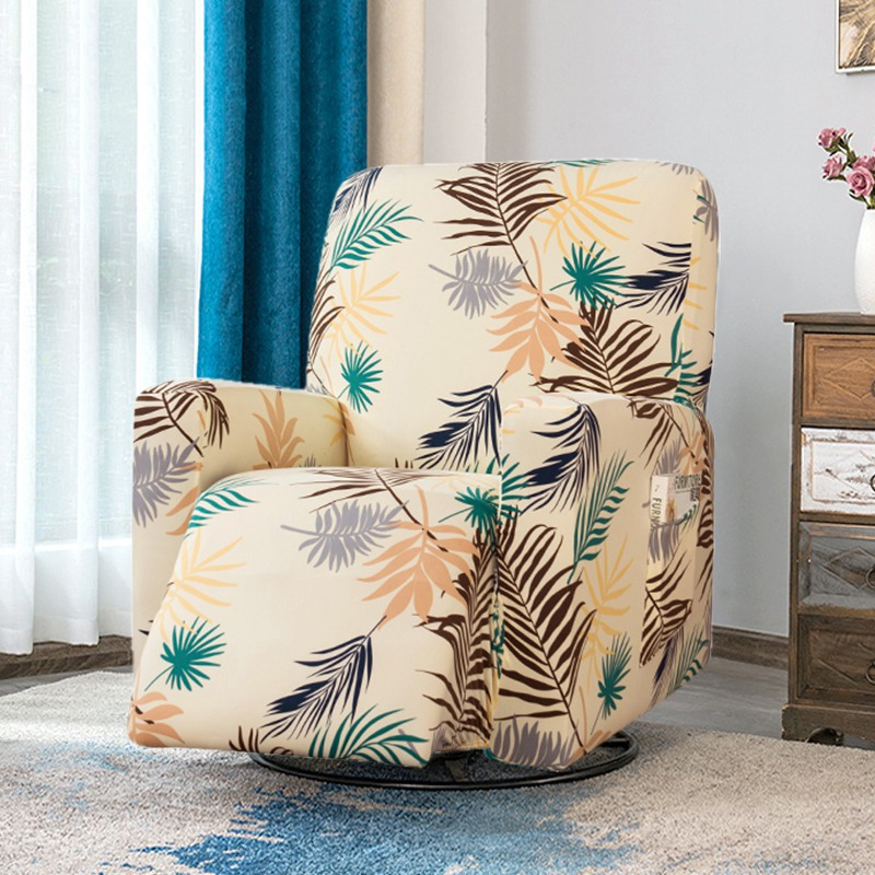 Elastic Recliner Chair Cover All Inclusive Massage Sofa Cover With Pocket Non Slip Armchair Slipcover Furniture