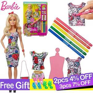 Original Barbie Doll Crayola P