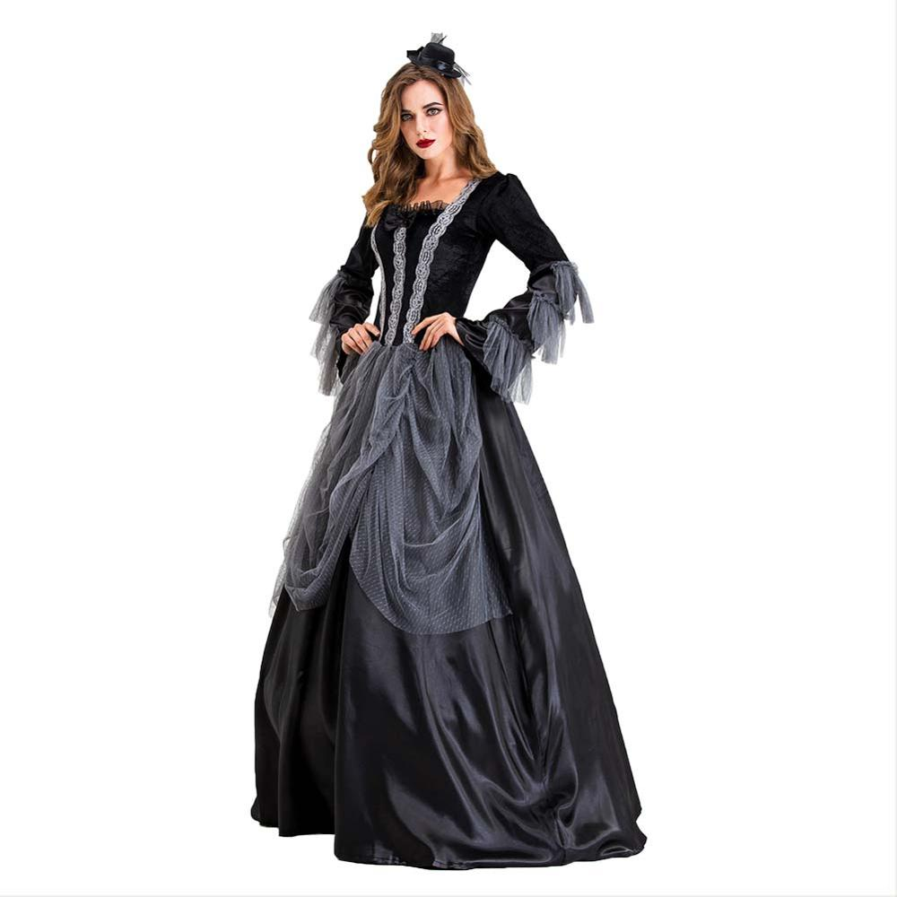 Halloween Vampire Queen Ladies Fancy Dress Adult Costume
