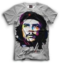 Camiseta nova revolução cubo bolivio orgentino uso comondonte stor hq