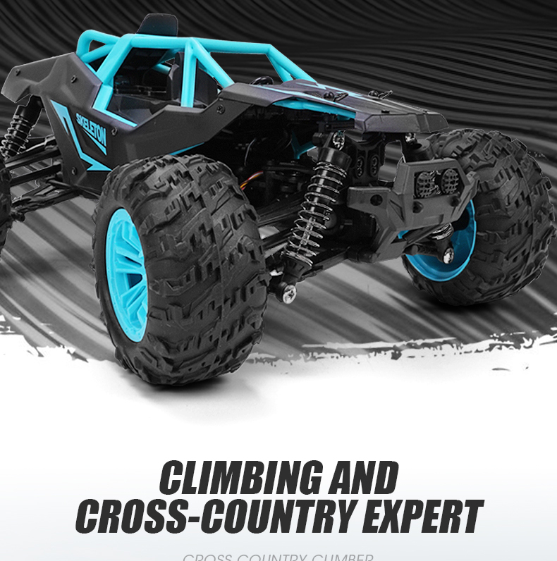 RC Car 1/14 Remote Control Car 2.4Ghz 36km/h 4WD High Speed Off-Road Truck RTR for Adults & Kids