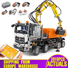 Car-Toys Building-Blocks Technic 42043-Truck Christmas-Gifts 20005 Compatible with Assembly