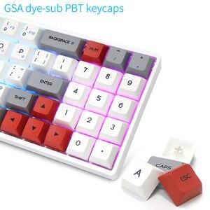 Image 3 - Skyloong SK71 Mini clavier mécanique Portable sans fil Bluetooth Mx rvb rétro éclairage clavier de jeu 71 touches commutateur GK61 Gateron