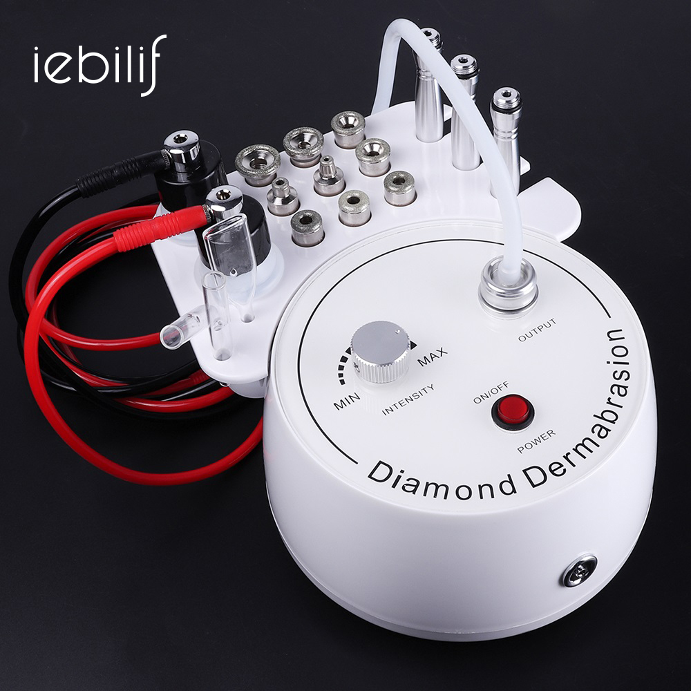 3 In1 Diamond Microdermabrasion Dermabrasion Machine Water Spray Exfoliation Beauty Machine Wrinkle Facial Peeling Skin Care