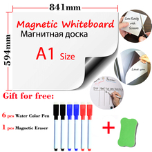 A1 Size 594x841mm Magnetic Whiteboard Fridge Magnets Present