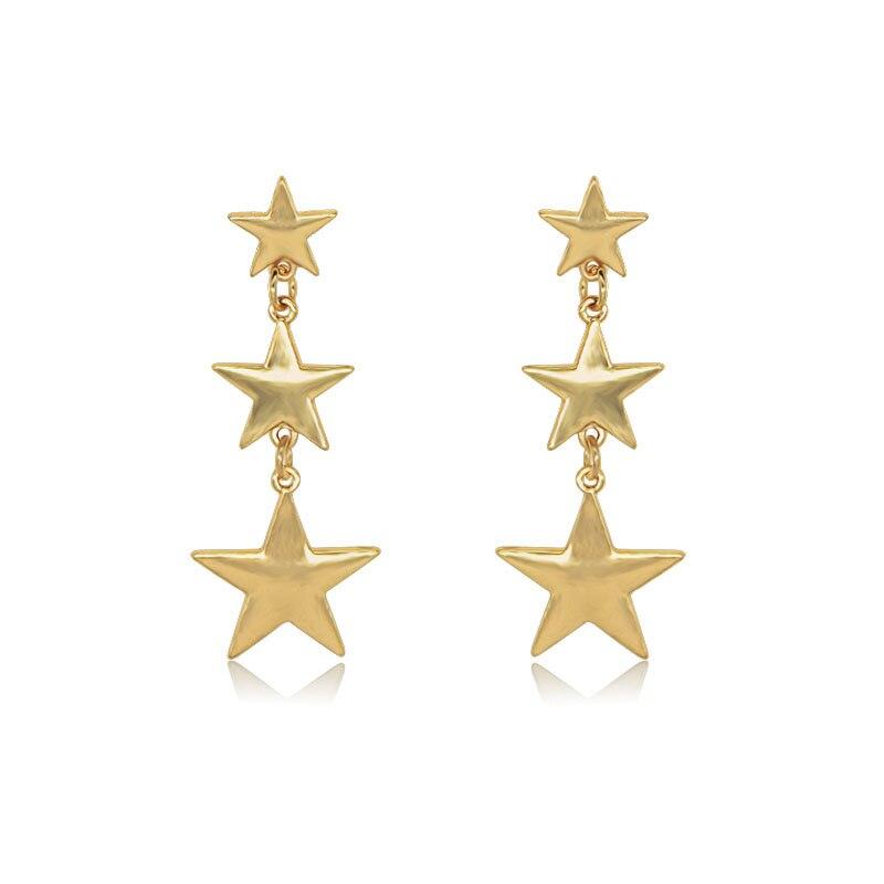 Vintage Hyperbolic Big Star Strands Punk Dangle Drop Women 39 s Earrings 2019 серьги серьги Fashion Jewelry Bohemia YSF in Drop Earrings from Jewelry amp Accessories
