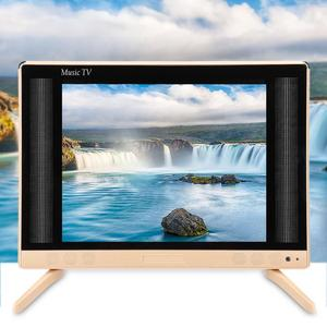 22 Inch High Definition LCD TV Portable Mini Television with Bass Sound Quality 110-240V smart tv