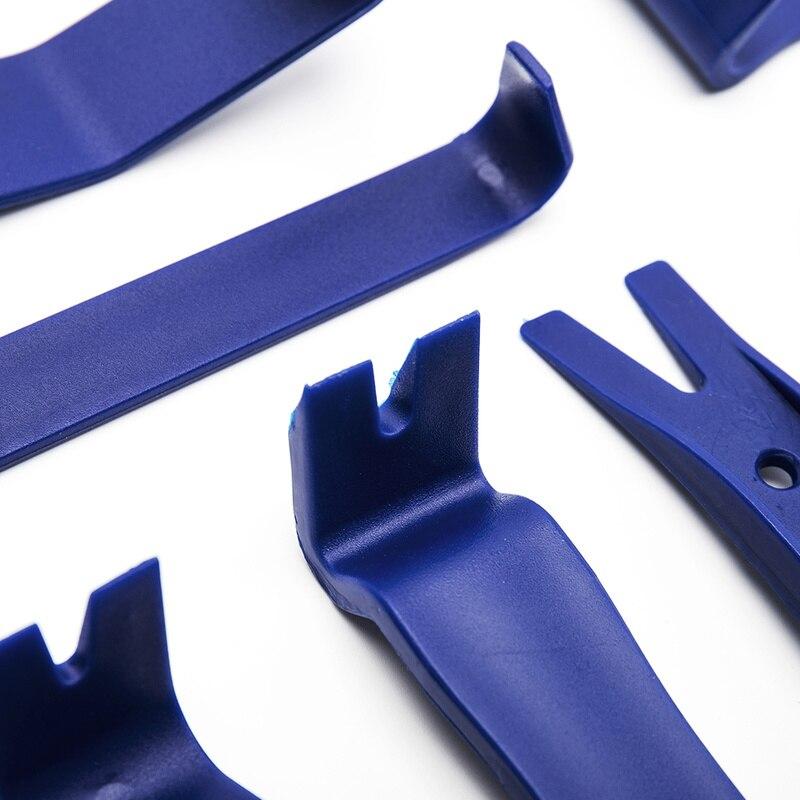 5pcs Car Removal Tools Car Audio Repair Kit Hand-held Panel Remover Mast Car Dashboard Door Trim Panel Clamp Disassembly Tool