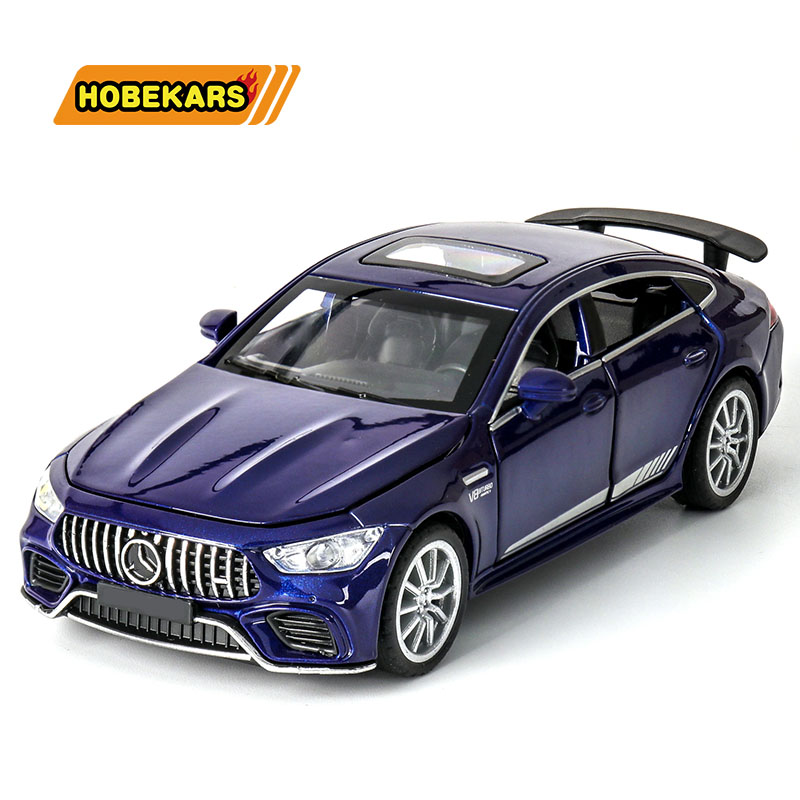 Model Car 1:32 GT63S Sport-car Diecasts & Toy Vehicles Metal Alloy Simulation Pull Back Cars Toys For Kids Gifts For Children
