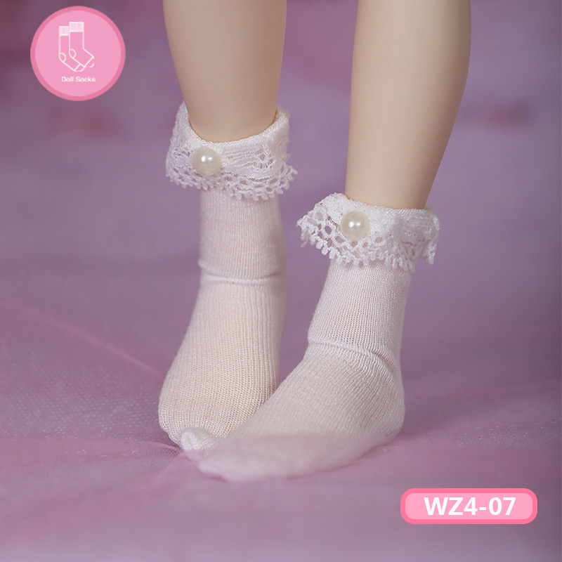 Short Socks For BJD Doll 1 Pair Socks Fashion Mini Toy Lace Socks For 1/4 Doll