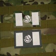 Мексиканский Флаг страны IR патчи инфракрасные Светоотражающие нравственные тактические мексиканские патчи Боевая специальная сила для пальто сумка на заказ