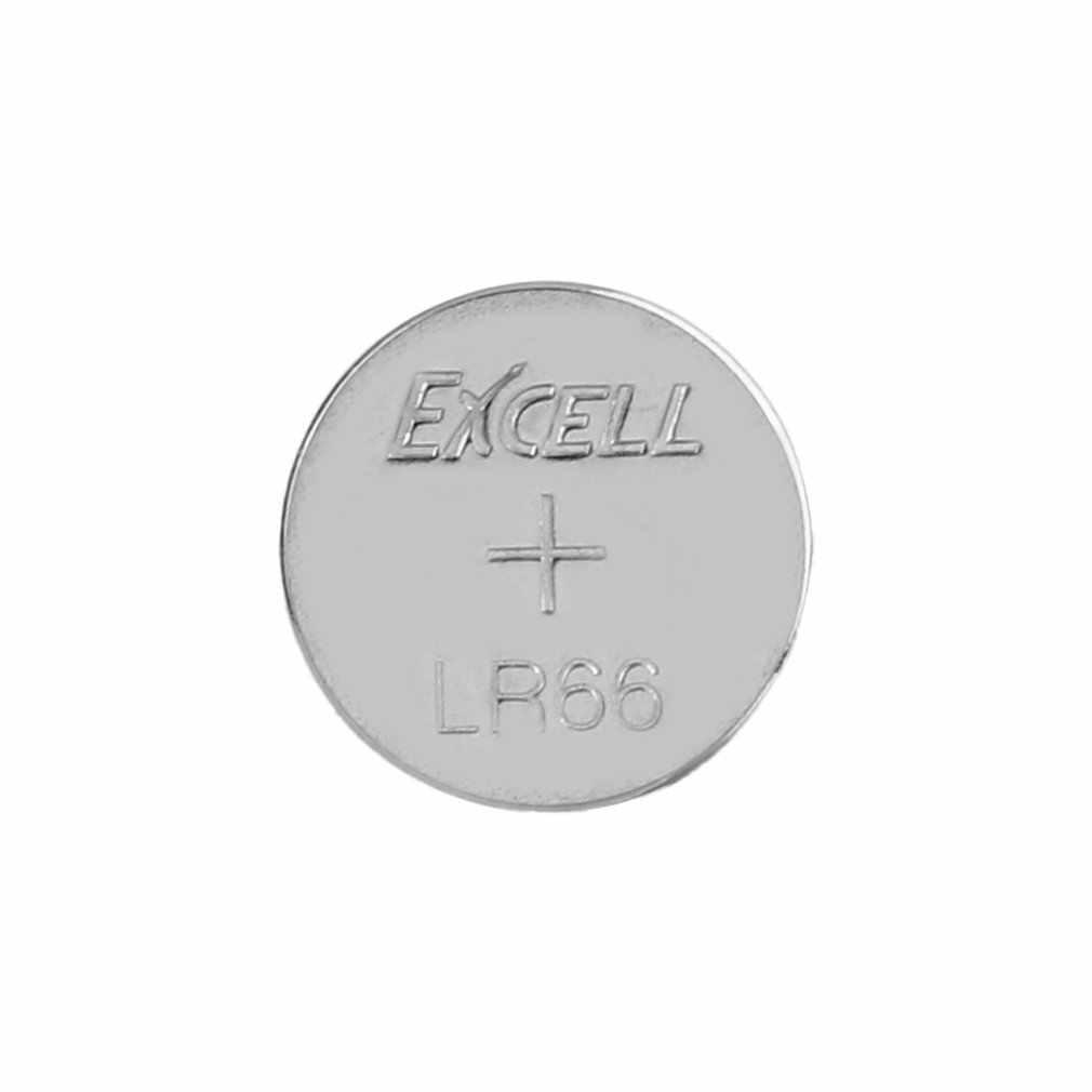 10 Cái/lốc Excell 1.5V LR66/177/377/AG4 Nút Đồng Tiền Tế Bào Pin Pin Nút Kệ Dài cuộc Sống Cho Đồng Hồ Đồ Chơi Điện Tử