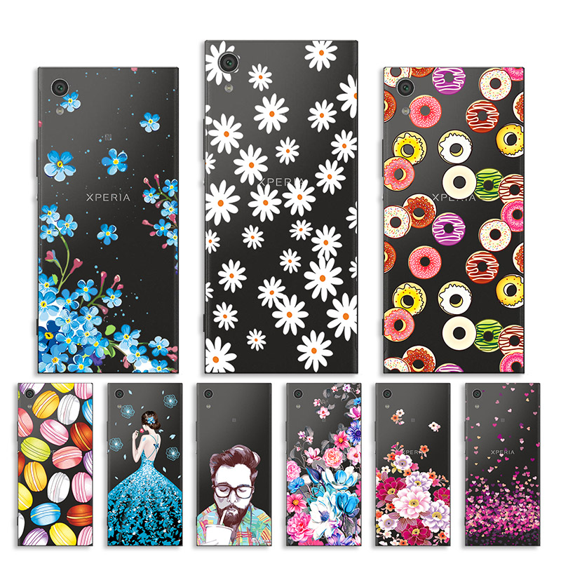 Silicone Case for <font><b>Sony</b></font> Xperia XA1 Case Cover for <font><b>Sony</b></font> Xperia XA1 G3121 G3123 G3125 <font><b>G3112</b></font> G3116 Cases for Xperia Z6 5.0
