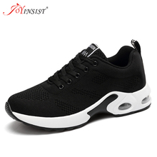 2020 New Platform Ladies Sneakers Breathable Women Casual Shoes Woman Fashion Height Increasing Shoes Plus Size forudesigns women fashion high top flats shoes cool skull design female height increasing platform shoes for teenage girls shoes