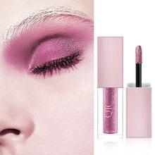 Get more info on the Glitter Shimmer Liquid Eyeshadow Metal Matte Eye Makeup Cosmetics Pigment Nude Eye Shadow 8 Color Waterproof Eyeshadow for Women