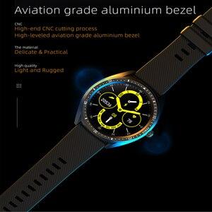 Image 5 - KW33 Smart Horloge Mannen IP68 Waterdichte 460Mah Lange Standby Fitness Tracker Hartslagmeter Bloeddruk Sport Smartwatch