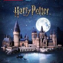 Movie-Toys Castle Hogwart Curiosity Magic DIY 3D Cardboard for Children Adult Gifts