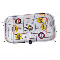 Hot Selling Tabletop Game for Boys Mini Rod Hockey Table Top Accessories Family Play Fun Table Game Set LBV