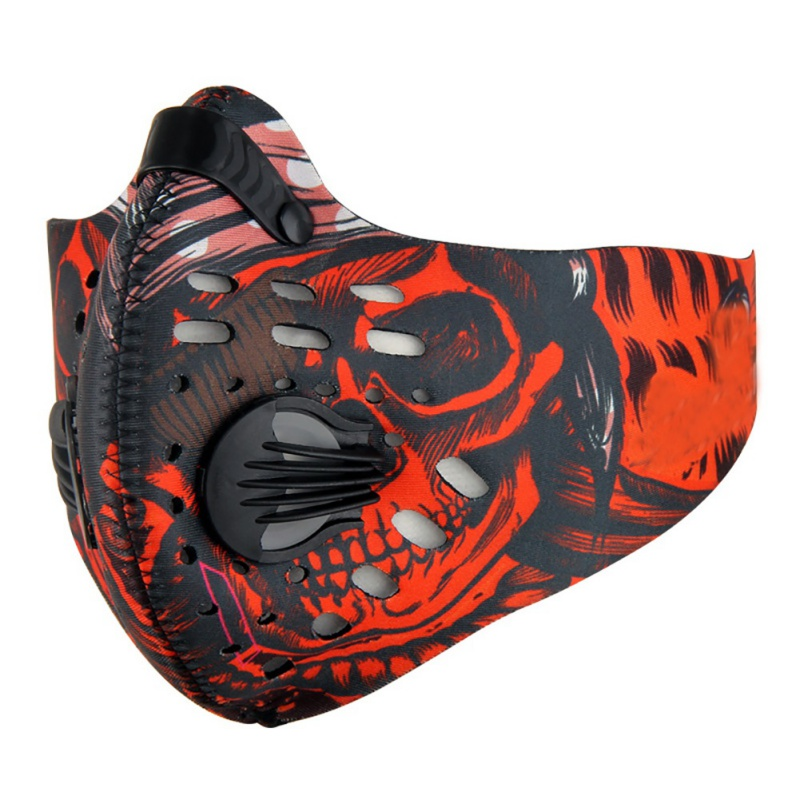 2020Anti-virus Face Mask Activated Carbon Non-woven Cloth Breathable Dust-proof Adjustable Outdoor Maks