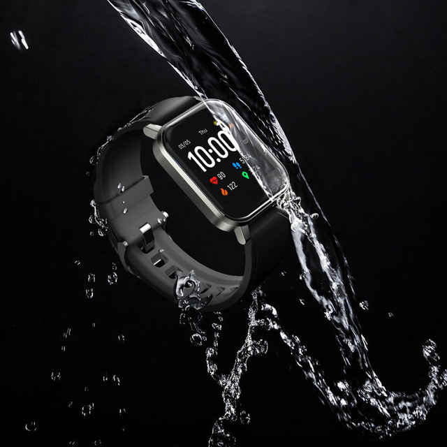 New Fashion Comfortable Haylou LS02 Smart Watch, IP68 Waterproof ,12 Sport Modes,Call Reminder, Bluetooth 5.0 Smart Band 6