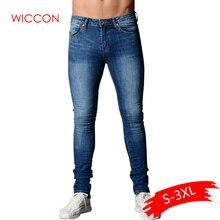 Весна, обтягивающие джинсы для мужчин, синие, хип-хоп, длинные, Стрейчевые джинсы, Hombre, облегающие, модные, по щиколотку, обтягивающие, уличная одежда, мужские штаны