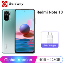 Xiaomi – Smartphone Redmi Note 10, Version globale, 4 go 128 go, écran AMOLED 6.43 pouces, Snapdragon 678, caméra Quad 48mp, charge rapide 33W