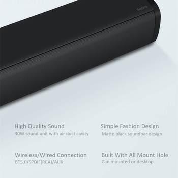 Xiaomi Redmi Mi TV Soundbar 30W bluetooth 5.0 Speaker Wall Mount Home Theater System Support bluetooth 5.0 SPDIF AUX Xiaomi Mi 2