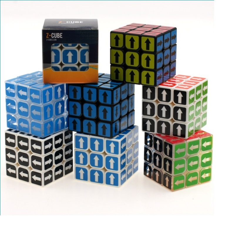 NEW ZCUBE 3X3X3 Sudoku Magic Cube Arrow Sticker Frost Stickerless Puzzle 3 By 3 57mm Cube Game Puzzle Children's Toys