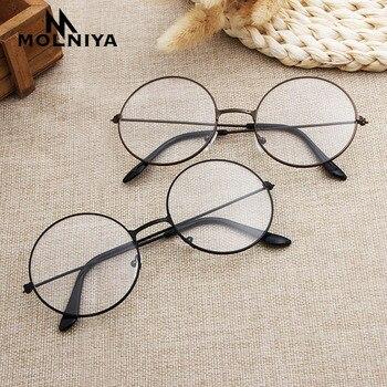 2020 round eyeglasses glasses frame men/women clear fake eyeglass eye frames for women/men
