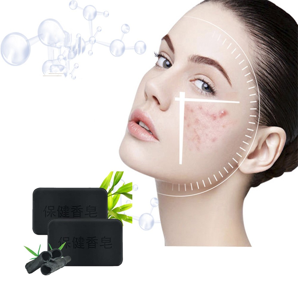 Removing Black Head And Freckles Soap Skin Whitening And Moisturizing Soap Active Bamboo Charcoal Removing Acne And To Make Skin