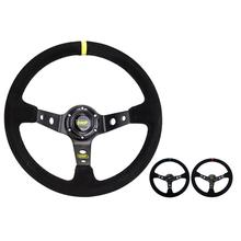 High Quality Car Racing Steering Wheel 14 Inch/350MM Nubuck General For OMP