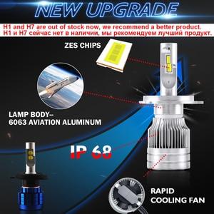 Image 5 - BraveWay ampoule LED pour véhicules automobiles, pour phares automobiles H4 H8 H9 H11 HB3 HB4 lampe à LED 9005 H7 H7 Canbus H11, 9006