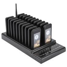 Système d'appel système de file d'attente de radiomessagerie sans fil 20 canaux Restaurant téléavertisseur serveur offre spéciale