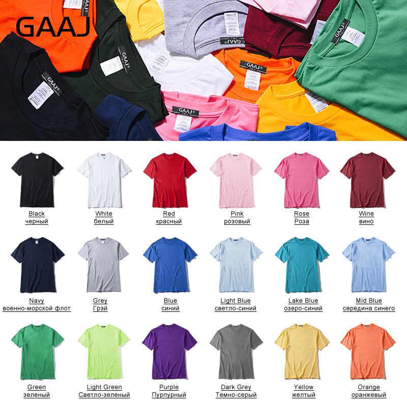 Gaaj T Shirt Wanita 100 Cotton 3 Buah Buah Tshirt Dasar Kosong T-shirt Wanita 3 Pack Solid Streetwear Tee kemeja 4XL 5XL 6XL