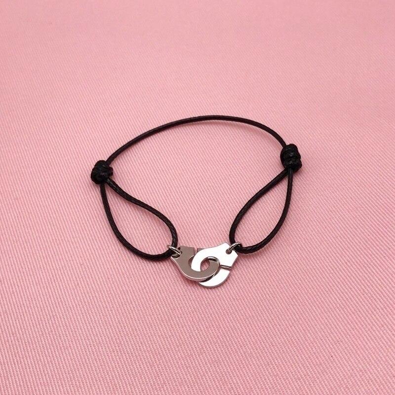 Модный наручники веревки браслеты для дам модные металлические украшения браслеты аксессуары вечерние, подарок, ювелирное изделие