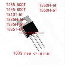 10PCS T435 600T T435 800T T810T 6I T835H 6I T835H 6T T835T 6I T850H 6I T850H 6T TO 220