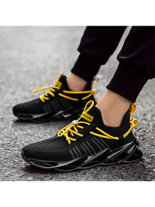 Fashion Sneakers Sports-Shoes Male Breathable Shoelace-Blade Walking-Tie Man Men New