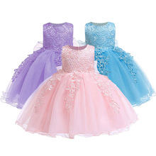 Lace Baby Girl Dress Baby Girls Birthday Dresses Vestido Birthday Party Princess Dress Christmas Wear Baby Girl Christmas Dress