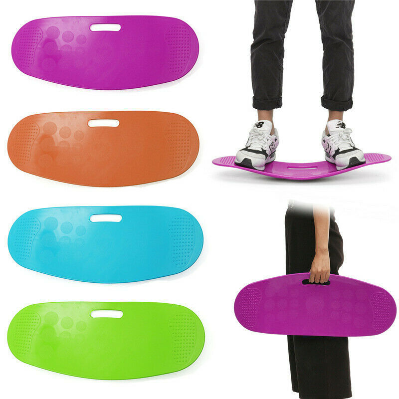 Twist Board Balance Board Fitness Core Twisting Workout Unisex Yoga Balance Board Gym Seesaw