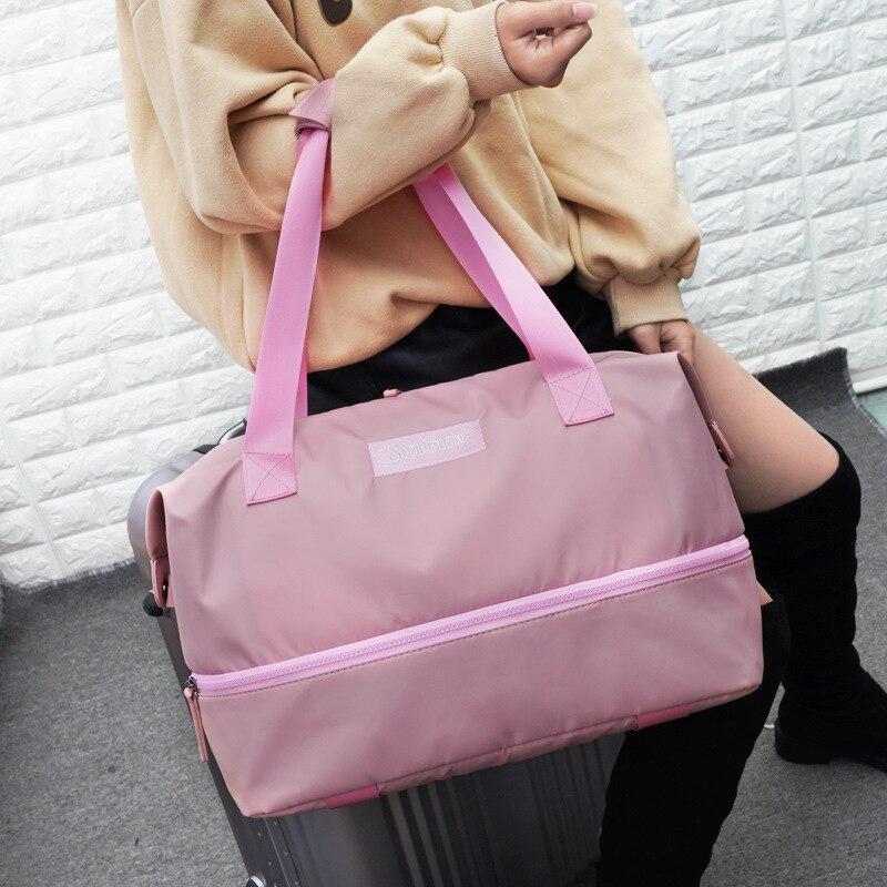 Manufacturers Direct Selling Handheld Traveling Bag Women's Travel Bag Large Capacity Bag Online Celebrity Travel Bag Gym Bag Me