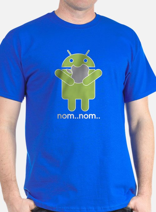Android Essen <font><b>Apple</b></font> <font><b>T</b></font> Shirts, Shirts & Tees Custom Android Kleidung image