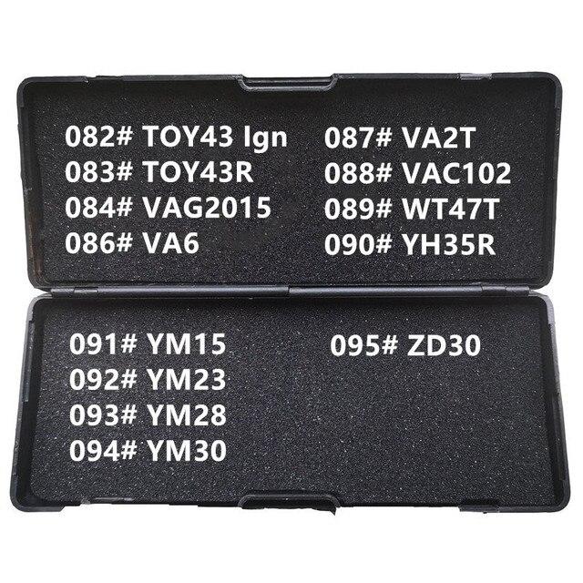 82 95 لى شى 2 في 1 2in1 TOY43 TOY38R VAG2015 VA6 VA2T VAC102 WT47T YH35R YM15 YM23 YM28 YM30 ZD30 الأقفال أدوات لجميع أنواع