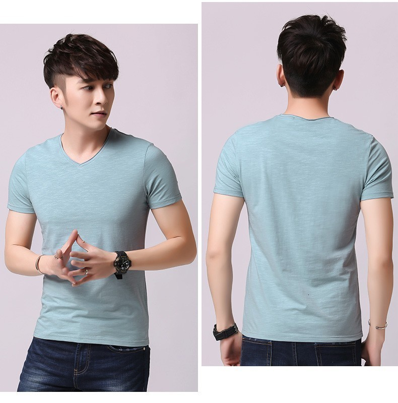 V Neck Underwear Men Loose Gym Breathable Cotton Sports Undershirt Top Quality White Under Shirt Ropa Interior Hombre Clothes