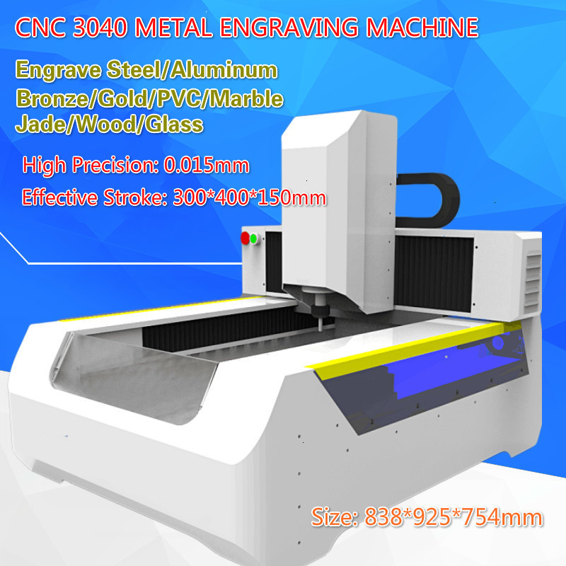 CNC 3040 High-precision Desktop Metal Carving Machine Numerical Control Fully Automatic CNC Engraving And Milling Machine