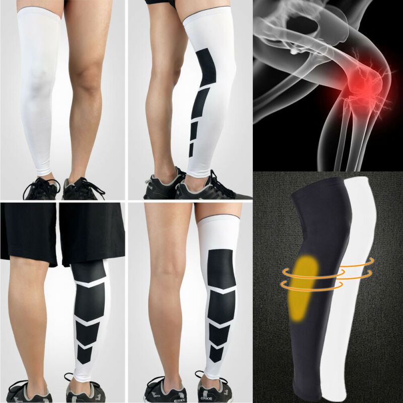 Brand New Compression Socks Knee High Support Stockings Leg Thigh Sleeve For Men Women Sport Basketball Knee Sleeve